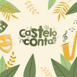 Logotipo do festival de tradición oral Castelo Conta